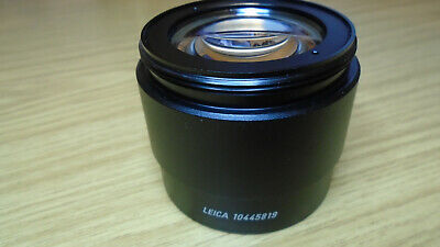 Leica Plan 1.0x Microscope Objective 10445819 for Leica M Series