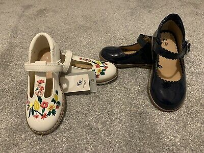 Girls Toddler Infant Size 9 Shoes Mothervare TU Both Brand New 2 X Pairs