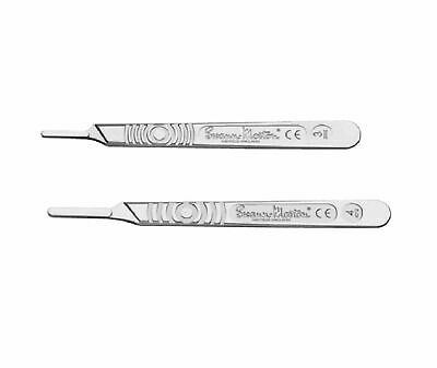 Swann Morton Handles no 3,4 Available in 1,2,4,10 Packs For Surgical Scalpel