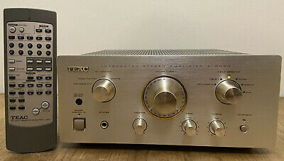 Teac A-H500 Integrated Amplifier + Remote Control - VGC
