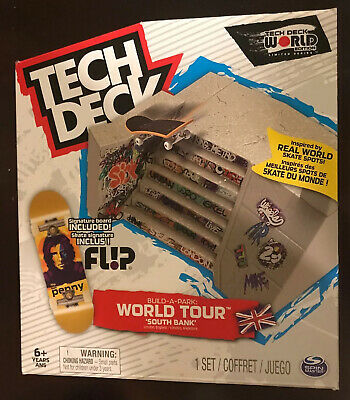 Tech Deck World Tour South Bank Park With Tom Penny Flip Board ( Free Shipping )