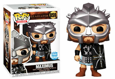 Funko Pop // Gladiator // #859 Maximus // Funko Shop Exclusive // MINT