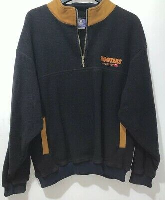 Hooters Fleece Pull Over Vancouver Canada VGC Adult XL