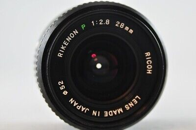 [Used] RICOH RIKENON P 28mm f/2.8 Manual Lens for Pentax-K