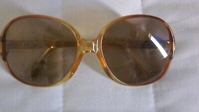 Zeiss orig. ladies vintage orange sunglasses.