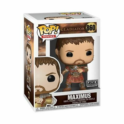 Funko Pop! Movies Gladiator - Maximus  #860 FYE EXCLUSIVE Free Shipping!!