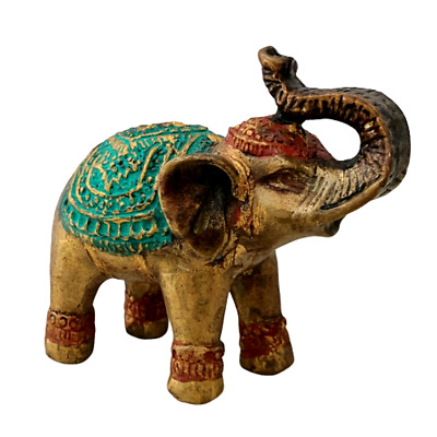Bronze Loving Elephant Statue With Entwined Trunks Thorne Antiques /& Collectables Mr /& Mrs Elephants