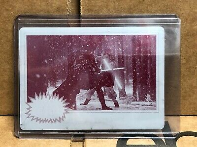 2019 Star Wars Journey to The Rise of Skywalker Printing Plates Magenta #80 1/1