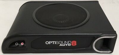 Vibe Optisound 8 Auto Slim Passive (Does Not Come With Amp) Underseat Subwoofer