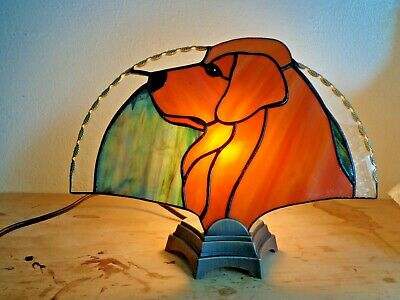 Stained Glass Dog - Golden Retriever