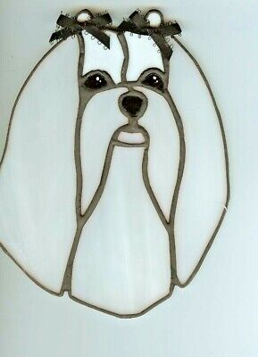 Stained Glass - Dog - Maltese