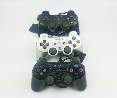 Job Lot 3x Faulty PS2 Controllers