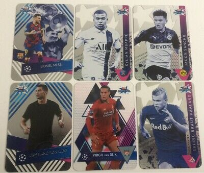 Topps Uefa Champions League Crystal Cards 2019/20 - Base Ucl Master Icon - Pick