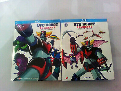 Ufo Robot Goldrake - Box 1 + box 2 - Blu Ray