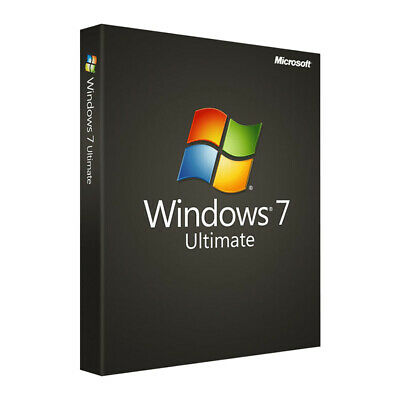 Microsoft Windows 7 Ultimate SP1 32/64 Bit key