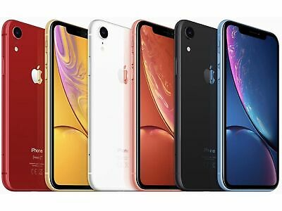 Apple iPhone XR 64GB Factory Unlocked Smartphone 4G LTE iOS Smartphone