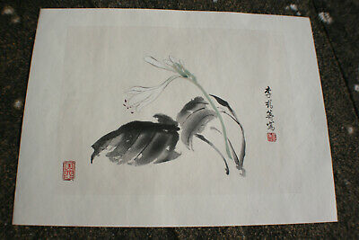 Chinese Ink & Watercolour Painting Print on Rice Paper #A01