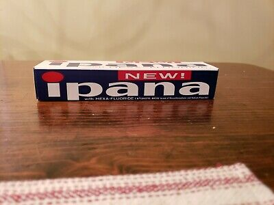 New old Stock Ipana Toothpaste New In Box