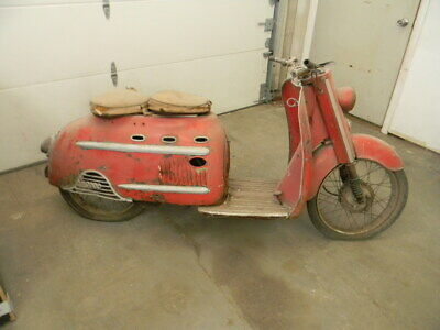 1957 DKW AUTO UNION SCOOTER BARN FIND , Free Shipping !