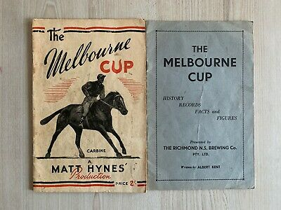 RARE The Melbourne Cup by Kent 1938 and Hynes 1950
