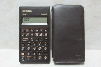 HP Hewlett-Packard 10B Business CALCULATOR - Tested and Works