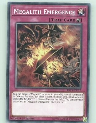 3x Megalith Emergence Playset IGAS-EN072 Common 1st Edition 3
