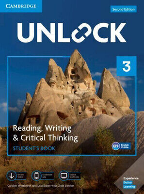 Unlock Level 3 Reading, Writing, & Critical Thinking Student's Book, Mob App