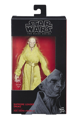 Star Wars The Black Series 6 inch Supreme Leader Snoke Action Figure by Hasbro