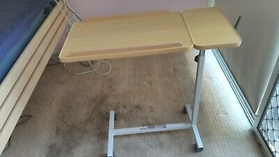 Overbed Table Adjustable Up and Down