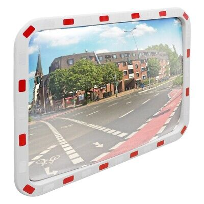 Wide angle security mirror traffic mirror driveway park safety rectangle mirror