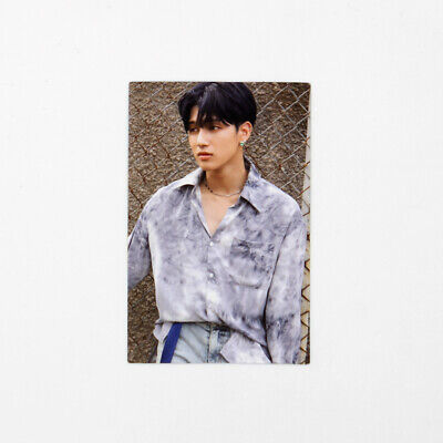 [ATEEZ] TREASURE EP.3 : One To All / Wave ver.(하늘) Official Photocard-Wooyoung