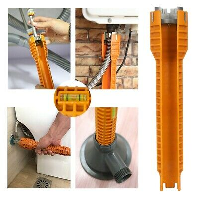 Faucet Wrench Under Sink Installer Tool Water Pipe Spanner Tackle Multifunction