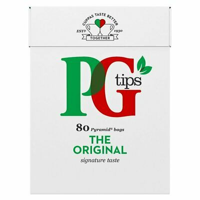 PG Tips Pyramid Tea Bags 80's - Pack of 4 - British Teabags