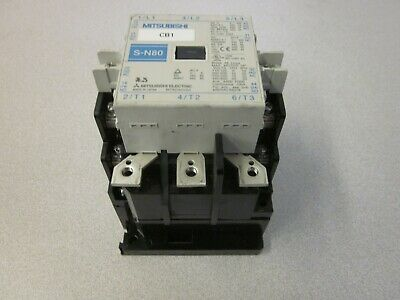 UPS Magnetic Contactor S-N80 3-Phase Excellent Condition
