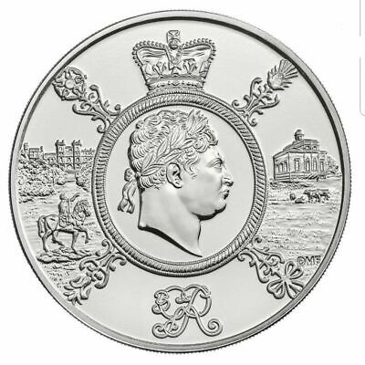 2020 £5 Coin King George Iii Five Pounds Brilliant Uncirculated