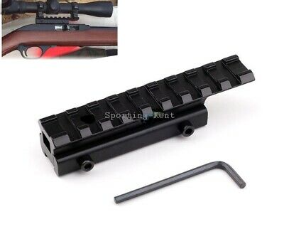 11mm-20mm Dovetail-Weaver Air Rifle Rail Adaptor 100mm Long Airgun Scope Sight