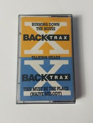 The Talking Heads Burning Down the House This Must Be the Place Audio Cassette