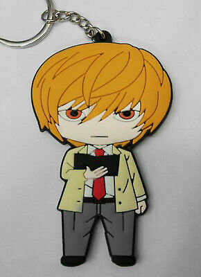 Death Note Light Keychain USA SELLER!!! FAST SHIPPING!