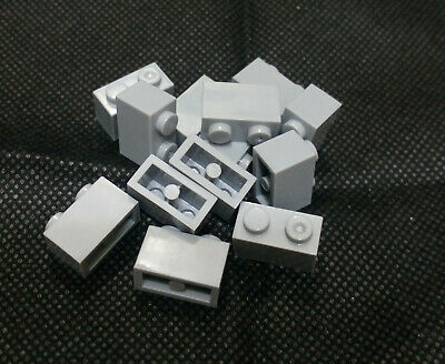 170 PCS 2X4 Gray Grey Brand New Building Blocks Bricks Compatible with lego