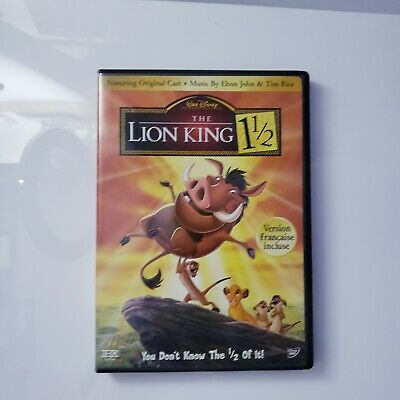 The Lion King 1 1/2 (DVD, 2004, 2-Disc Widescreen) 1.5