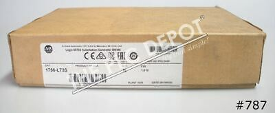 FACTORY SEALED Allen Bradley 1756-L73S /B 2017-2020 Safety GuardLogix #787