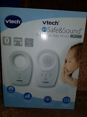 Vtech Safe And Sound Digital Audio Baby Monitor Dm1111