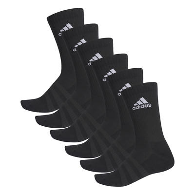 Adidas Cushioning Crew Socks 6er Pack - Black