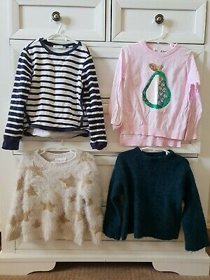 Country Road & Cotton On Kids girls winter jumper bundle size 4-5