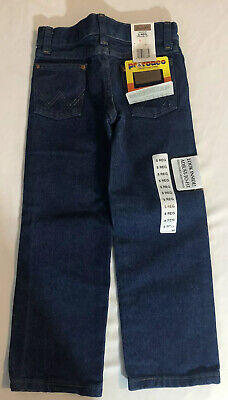 Wrangler NWT Little Boys Denim Jeans 5 Regular Pro Rodeo Cowboy Cut