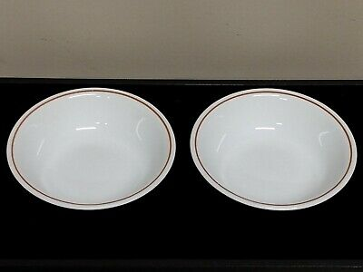 Set Of 2 Corelle Corning Indian Summer Fruit Bowls