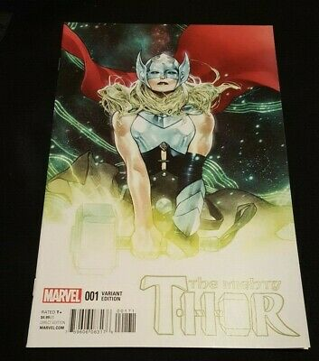 Mighty Thor 1 Variant 1:25 Coipel Nm/Nm+ Rare 2 0 1 5 Jane Foster Avengers