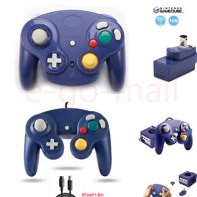Wired/ Wireless GameCube Remote Gamepad Joystick Controller for NGC Console