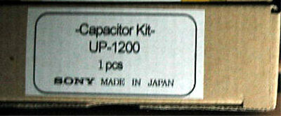 Sony Capacitor Kit UP-1200 genuine VCR VTR parts