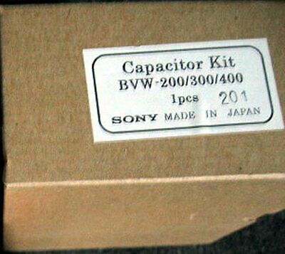 Sony Capacitor Kit BVW-200/300/400 genuine VCR VTR parts